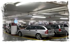 Parking privé au Grand Hôtel Lille